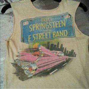 Vintage cutout Bruce Springsteen tank